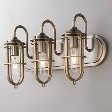 Best Of Nautical Bathroom Lights With Nautical Vanity Light Fixtures Nautical Bathroom Lighting Fixtures