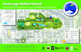 Map Of Anchorage Alaska by Schools On Trails Maps Anchorage Park Foundation