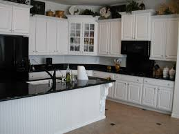 antique white kitchen cabinets with white appliances off white