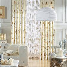 Country Style Window Curtains Country Style Window Curtains With Floral Patterns