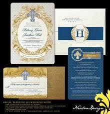 cheap halloween wedding invitations wedding invitations with fleur de lis design halloween ideas