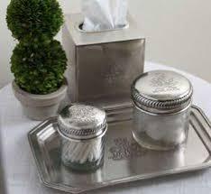 Cracked Glass Bathroom Accessories Paradigm Bath Accessories Crackle Glass Ice Trash Can Crackle