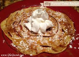 easy funnel cake recipe shesaved