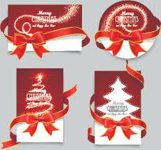 christmas card design free vector in adobe illustrator ai ai