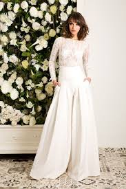 wedding dress jumpsuit vestido novia zurbaran jordi dalmau novias con pantalones