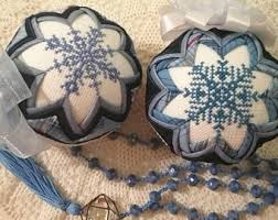 fabric ornaments etsy