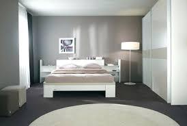 chambre grise et peinture chambre gris et blanc peinture chambre grise et blanche