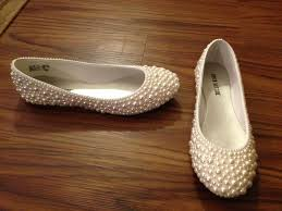wedding shoes reddit pearl shoes that i made for my wedding in november i used plain