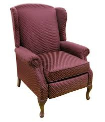 Wingback Chairs Leather Furniture Wingback Chair Recliners And Queen Anne Recliner