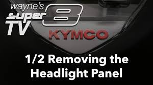super8 150 1of2 removing the headlight panel youtube