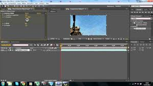 adobe after effects tutorial venetian blinds diagonal lines