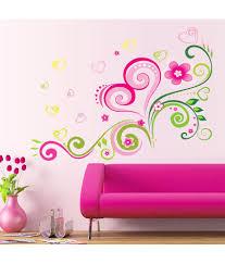 oren empower fashion design romantic flower wall sticker buy oren empower fashion design romantic flower wall sticker