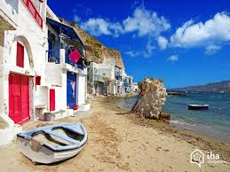 milos island rentals for your vacations with iha direct