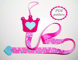 hair clip holder hair clip holder pattern diy felt sewing handmade