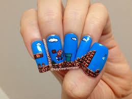 nail art cute cool simple and easy nail art design ideas for to