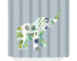 Childrens Shower Curtains Shower Curtain Etsy