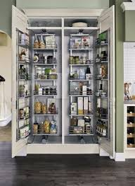 kitchen larder cabinets full height pull swing larder units надо попробовать pinterest