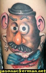 lucky 7 tattoo studio tattoos jason ackerman mr potato head