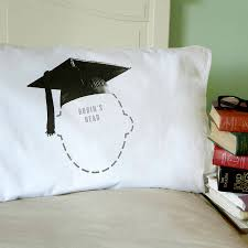 graduation gift graduation gift mortar board personalised pillowcase by twisted twee