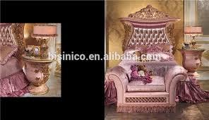 italian luxury design children bedroom furniture set elegant pink