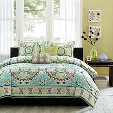 suite creations medallion 4 pc twin twin xl bedding set blue