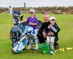 legend gary player visits golphinforkids event in st andrews