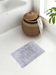 Silver Bathroom Rugs Fluffy Bathroom Rugs Theoutlines Co