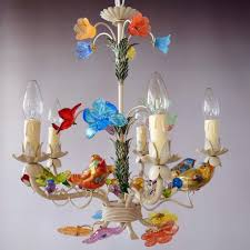 Cut Glass Chandeliers Uccellini