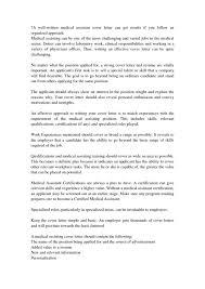 unit assistant cover letter