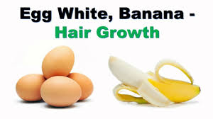 banana for hair egg white banana hair pack for hair growth