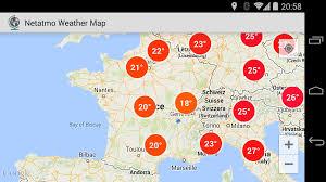 Goo Map Netatmo Weather Map Beta U2013 Android Apps Auf Google Play