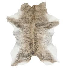Calf Skin Rug Tan Brindle Calf Skin