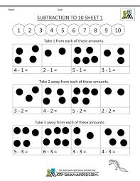 subtraction worksheets easy subtraction worksheets for