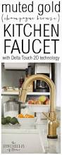 Kitchen Touch Faucets by Best 25 Delta Kitchen Faucets Ideas On Pinterest Kitchen