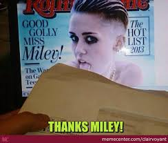 Miley Meme - best way to use miley cyrus tongue by clairvoyant meme center