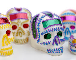 learn how to make candy skulls