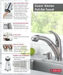 Delta Brushed Nickel Kitchen Faucet by Delta Faucet Home Depot U2013 Wormblaster Net
