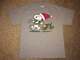 snoopy christmas t shirt sale vintage peanuts snoopy christmas shirt by casualisme