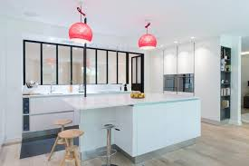 ilot cuisine blanc armony cucine skconcept réalisation d une cuisine design avec