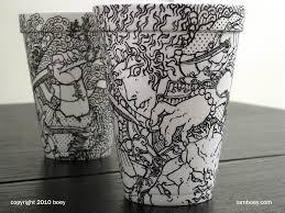 cheeming boey coffee cup art design upright coffee