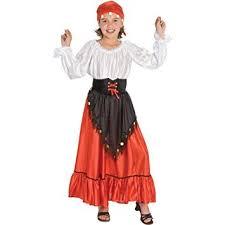 Gypsy Halloween Costume Amazon U0027s Gypsy Halloween Costume Size Large 10 12