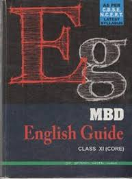 amazon in buy mbd english guide class xi core book online at