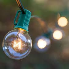 Clear Patio Lights Lights 25 G40 Clear Patio Lights