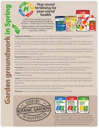 native plant fertiliser seasonal fertilising guides neutrog