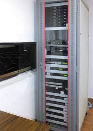 Audio Visual Rack Extron Av Systems Facilitate Research At Leading Institute In