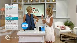 ring wi fi enabled video doorbell on qvc with host kerstin