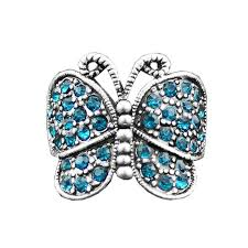 butterfly crystal rings images Vintage crystal butterfly rings my catee jpg