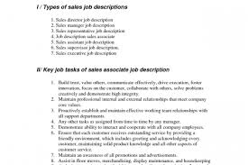 Sales Associate Job Description Resume by Lna Resume Reentrycorps