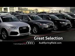 audi springfield audi springfield march 2017 tv commercial