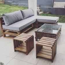 unique 30 garden furniture wooden pallets design ideas of best 25